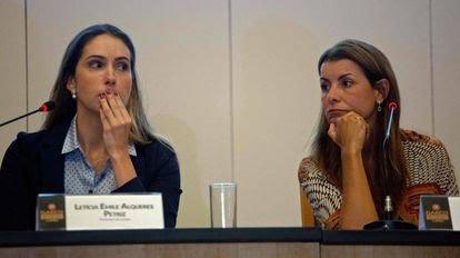 As promotoras Leticia Petriz e Simone Sibilio, até o momento responsáveis pela investigação do 'caso Marielle'.